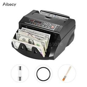 Aibecy Dinero Contador Moneda Contando Máquina Uvmg... (us)