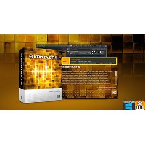 Kontakt 5.7.3 Mac E Windows Completo + 10 Bibliotecas