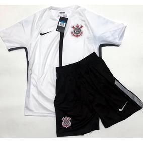 Conjunto De Treino Corinthians - Camisetas no Mercado Livre Brasil ef90b8704a71c