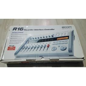 Zoom R16 - Gravador Digital E Interface Multipistas