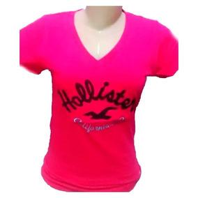 Camiseta Feminina Hollister Regata - Camisetas no Mercado Livre Brasil 17890d27248