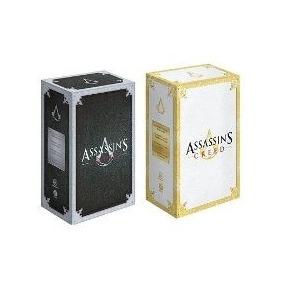 Assassins Creed Livro 1 + 2 Box (8 Livros) Português Lacrado