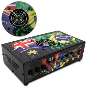 Amplificador Mesa Mixer 300w Rms 2 Canais Som Igreja Casa