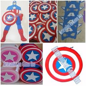 Capitan America - Combo Goma Eva-
