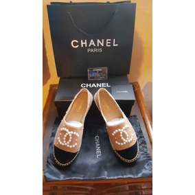 Espadriles Zapato Chanel Varios Colores De La 3 A La 6 Mex