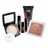 Base + Compacto + Labial + Rubor Kit Perfect Makeup Valmy