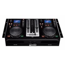 Dual Player Gemini Cdmp 6000 (cd Player Duplo + Mixer+ Usb)