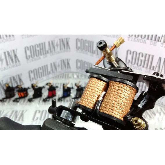Máquina Tattoo Bobinas 10w Modelos No1 Principiante Tatuar