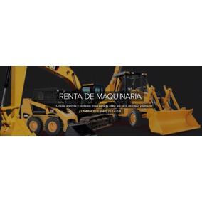 Renta Maquinaria Construcción Excavadora Y Más En Querétaro