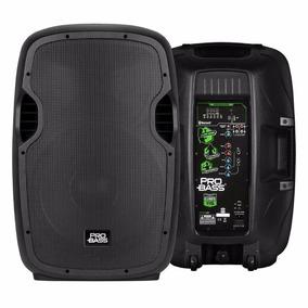 Caixa De Som Ativa Ampl -15 Pol.probass Bluetooth 800w