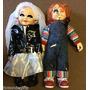 Muñecos Edicion Limitada Chucky Y Tiffany 60 Cm Alto