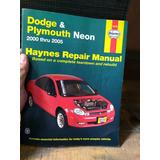Manual Chilton De Reparación Dodge Neón