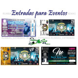 Entradas-tickets-boletos-para Conciertos Eventos Y Más