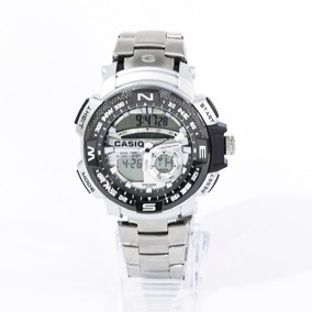 Reloj G Shock Buso Metálico Negro Para Caballero