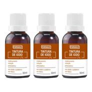 Farmax Tintura De Iodo 30ml (kit C/03)