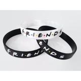 Friends Serie Pulsera De Silicona Exclusiva 2 Colores