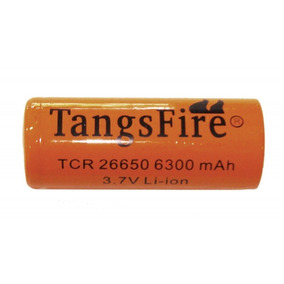Bateria Recarregável Li-ion Tcr26650 3,7v 6300mah Tangsfire