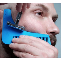 Peine Molde Barba Plantilla Delineador Beard Bro Auténtico