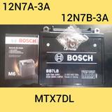 Bateria Bosch 12n7a-3a Guerrero Cg125 Queen Deltoya Motos