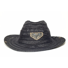 1 Chapéu De Palha Capa Groairas Varejo Aba 15cm 0006. São Paulo · Chapéu  Cowboy County Caipira Sertanejo Mesclado Adulto f36ee1d670b