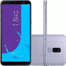 Celular Samsung J8 64gb Prata Tela 6'' 4g