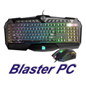 Mouse Teclado Gamer Thermaltake Challenger Rgb Local Rosario