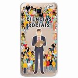 Case Capa Capinha Samsung Galaxy J7 Prime Ciências Sociais M