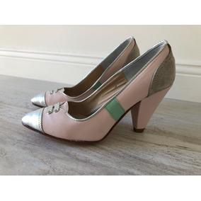 Zapatos De Cuero Tipo Stiletto Sin Uso, Talle 35 De Satori