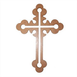 Religioso Crucifixo 2 (cruz) 20 Cm Mdf 3mm.