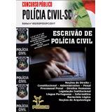 Apostila Concurso Escrivão De Polícia Civil Sc 2017+cortesia