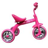 Triciclo Lahsen De Niña Flowers Girl 10 Pulg Color Rosado