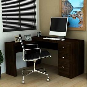 Mesa Para Escritório Me4101 - Tecno Mobili - Tabaco