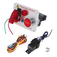 Tablero Encendido Competición Con Relay Y Cables