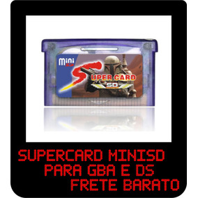 Supercard - Catucho De Reparo Para Gba & Ds !!! Excelente