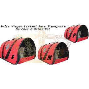 Bolsa Viagem Lavável Para Transporte De Cães E Gatos Pet