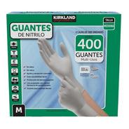 400 Guantes Nitrilo Medianos Kirkland 2 Cajas De 200 C/u