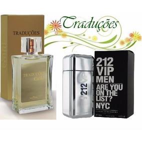 Perfume Hinode Traduções Gold Nº 62 100ml 212 Vip Men