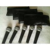 Microfone Shure Sm 58 Lc Kit Com 5pcs Temos Beta 57 58
