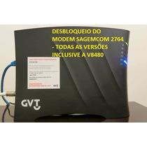 Desbloqueio Do Modem Sagemcom F@st 2764 Gv Vdsl2 (power Box)