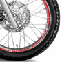 Friso Adesivo Refletivo Tuning Roda M6 Moto Honda Xre 190