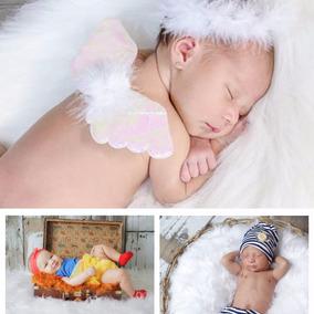3 Mantas Pelo Alto Acessório Newborn + Brinde E Frete Grátis