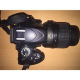 Baratron Camara Nikon D5100 + Lente 18-55mm Y Estuche Gratis
