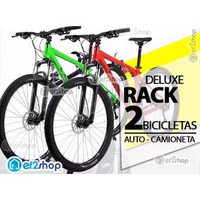 Rack Soporte 2 Bicicletas Auto Camioneta Suv Bike Cajuela
