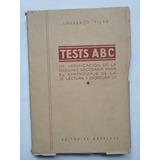 Tests Abc, De Madurez Para El Aprendizaje, Lourenco Filho.