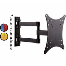 Soporte De Pared Televisor Regulable Lcd Led 23´´a 42´´ 88lb