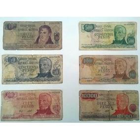 Billetes Argentinos Antiguos. El Mejor Precio De Merc. Libre