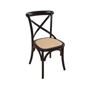 Kit 10 Cadeiras Decorativa Katrina/paris Madeira Natural