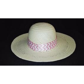 Sombrero Playa Unisex Artesanal Fina Palma Yucatan
