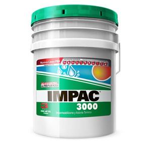 Impermeabilizante Impac 3000 Fibratado Color Terracota