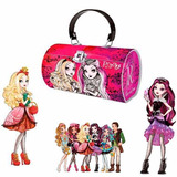 Carteira Bolsa Estojo Ever After High Metal Infantil Escolar